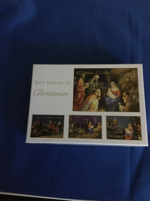 Boxed set of Christmas Cards - 16 in box